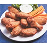 Brakebush, Fully Cooked, Unbreaded Jumbo Naked Chicken Wings, 6 lb (2 count)