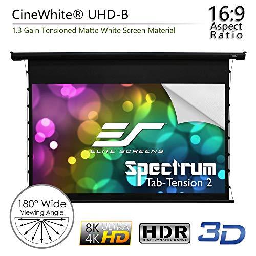 e384566abd4f1 Elite Screens Spectrum Tab-Tension, 125-inch 16:9, 4K Tensioned ...