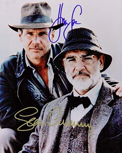 INDIANA JONES Harrison Ford and Sean Connery - Reprint 8x10 inch Photograph -