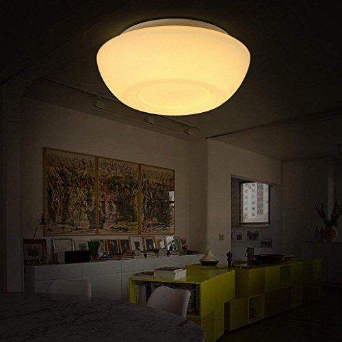 Ccyyjj Plafond Balcon Corridor Nordique Chose Simple Lampe Led Ronde
