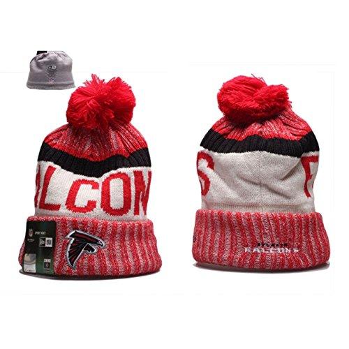 New-Era-NFL-Team-Logo-Sport-Knit-Beanie-with-Pom