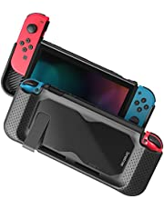 Smatree Hard Protective Case for Nintendo Switch-Comfort Handheld Back Cover for Nintendo Switch Console (Black)