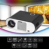 Projection 200inch image Screen LED Android Projector 3200 Lumen GP90 Projector Built-in Bluetooth WIFI Beamer Proyector Support Smart AC3 Player LED TV Video projector