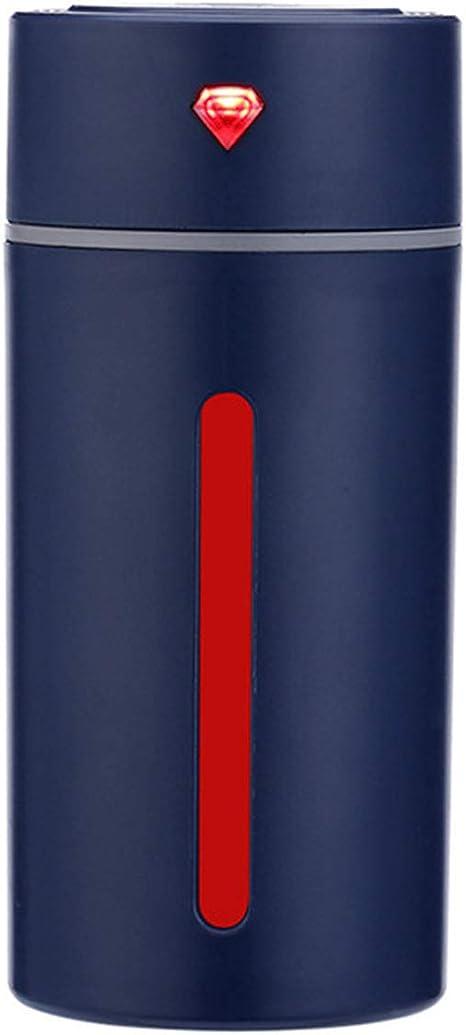 WY1688 USB Carga Coche purificador de Aire Nuevo Diamante Taza humidificador Colorido luz de Noche humidificador ...