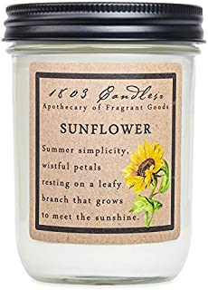 product image for 1803 Candles - 14 oz. Jar Soy Candles - (Sunflower)
