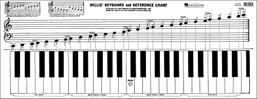 Willis Music Keyboard & Reference Chart ()