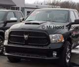 2002-2018 Hood Scoop for Dodge Ram 1500 by MrHoodScoop UNPAINTED HS002