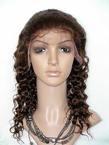 (SINA Lace Front Wig 22 inch Virgin Peruvian Lace Wig #4 Women Lace Front Wig Human Hair Wig for african american Wig)