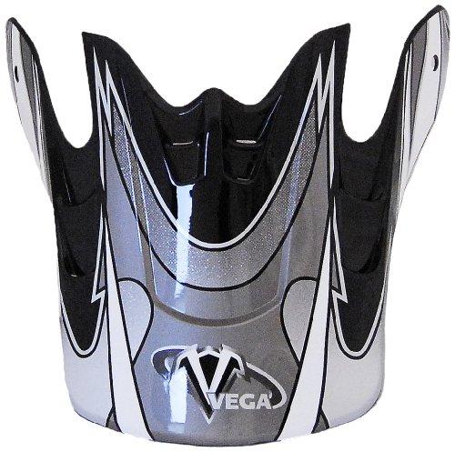 Vega Graphic Replacement Visor for Mojave Off-Road Helmet (Black)