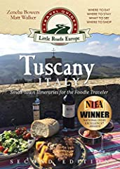 Second Edition: Updated listings and descriptions of places to go, stay, and eat! These seven itineraries will guide you along the little roads of small-town Tuscany to some of the best food in the world -- to the heart of Tuscan cuisine. Zen...