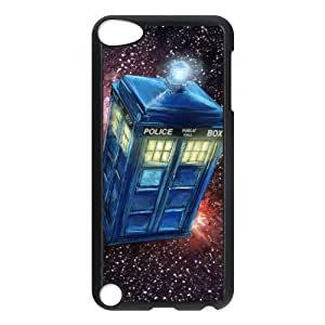 Customize Doctor Who Police Box Back Case for ipod Touch 5 JNIPOD5-1287
