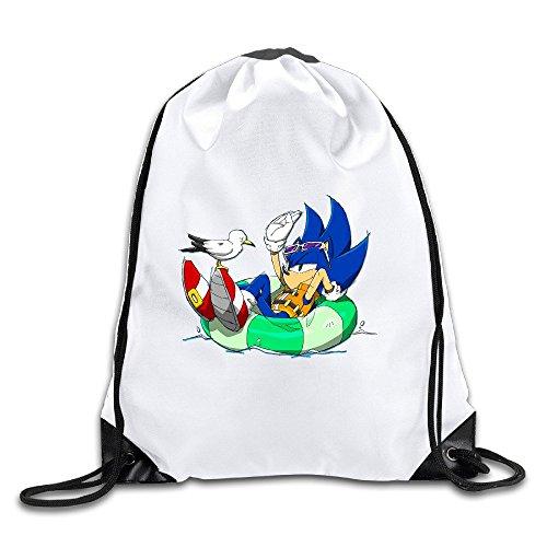 BENZIMM Sonic Channel Drawstring Backpacks/Bags -