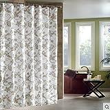 Custom Carton Olaf Waterproof Polyester Fabric Bathroom Shower Curtain Standard Size 66(w)x72(h)