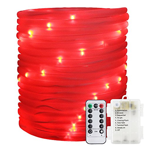 100 Count Red Led Christmas Lights in US - 5