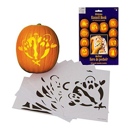 Pumpkin Carving Halloween Stencil (Halloween Pumpkin Cat Carving)