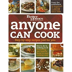 Anyone Can Bake Better Homes and Gardens Books