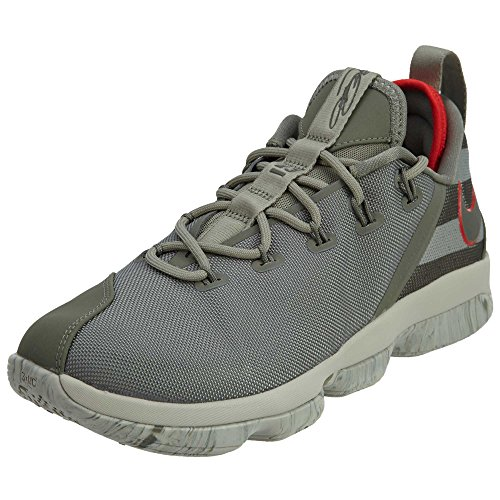 Nike Lebron XIV Low Men's Basketball Shoes Dark Stucco/Dark Stucco 878636-003 (9 D(M) US) ()