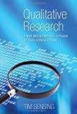 Qualitative Research, Tim Sensing, 1610972767