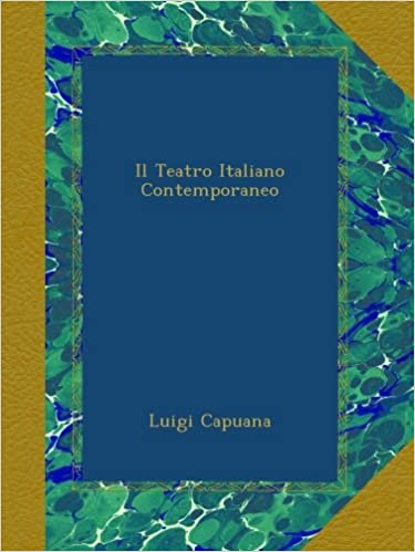 Il Teatro Italiano Contemporaneo