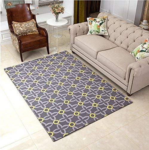 屋内外のドアマット モダンアメリカンスタイルのリビングルームの幾何学模様の寝室のソファーのコーヒーテーブルのマット (Color : # 1, サイズ : 140CM × 200CM) 140CM × 200CM # 1 B07RTTP6PJ