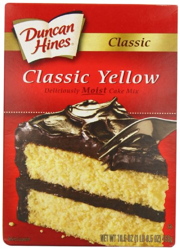 (Duncan Hines Signature Yellow Cake Mix, 16.5-Ounce Boxes (Pack of 6))