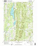 Wells VT topo map, 1:24000 Scale, 7.5 X 7.5 Minute, Historical, 1967, Updated 1972, 26.9 x 22 in