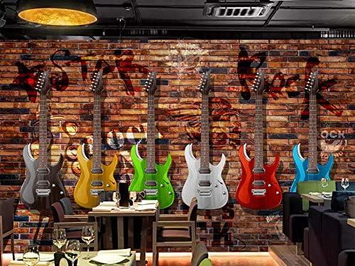Personalizado Cualquier Tamaño de Europa y América Retro Guitarra ...