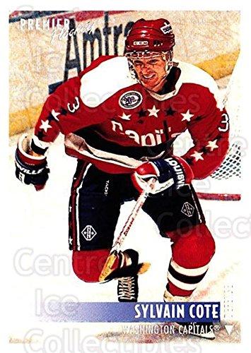 (CI) Sylvain Cote Hockey Card 1994-95 OPC Premier Special FX 208 Sylvain Cote