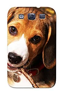 Hot Design Premium MRWCZkA12042JpYwp Tpu Case Cover Galaxy S3 Protection Case (beagle Puppy)