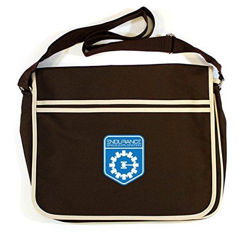 INTERSTELLAR Messenger Retro ENDURANCE Brown Bag 4A4zfqw