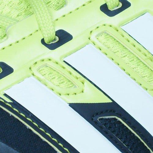 adidas Response Boost Techfit M, Scarpe da Corsa Uomo Nero - Nero/Giallo Fluo