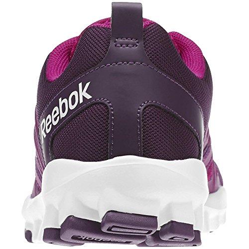 Reebok - Realflex Train - M49898 - Farbe: Rosa-Violett-Weiß - Größe: 39.0