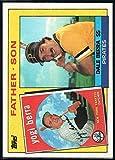 1985 Topps Baseball #132 Yogi Berra/Dale Berra New York Yankees/Pittsburgh Pirates Father Son Official MLB Trading Card (stock photos used) Near Mint