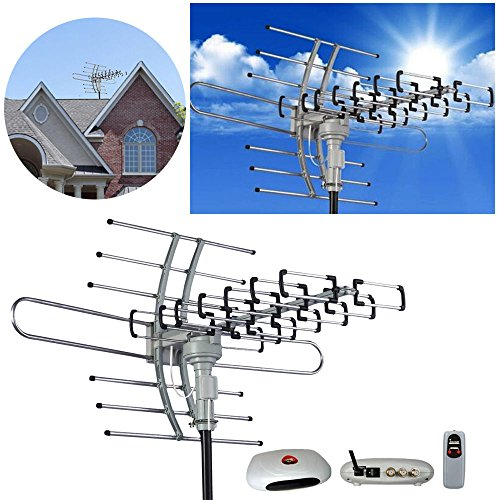 HDTV 1080P Outdoor Amplified Antenna Digital HD TV 150 Mile