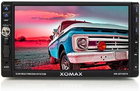 Xomax Xm 2dtsb78 Autoradio Moniceiver Mit 18 Cm Elektronik
