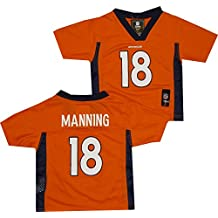 Peyton Manning Denver Broncos Orange NFL Toddler 2013-14 Season Mid-tier Jersey (Toddler 3T)