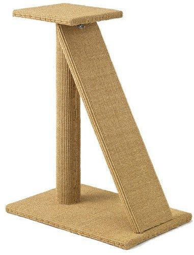 Sustainable Lifestyles ramp-bambu Scratching Ramp - 30 in. Sisal Scratching Post with Ramp - Bambu