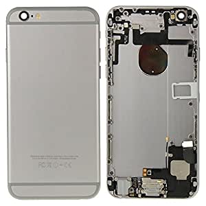 LussoLiv iPartsBuy for iPhone 6 Full Housing Back Cover(Grey)