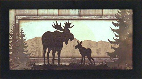 Moose Art Amazoncom - Moose wall decor