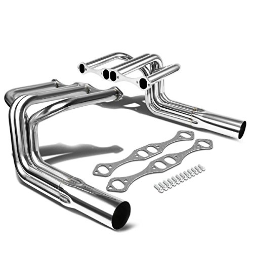 (DNA Motoring HDS-SBC-HIB32 Stainless Steel Exhaust Header Manifold)