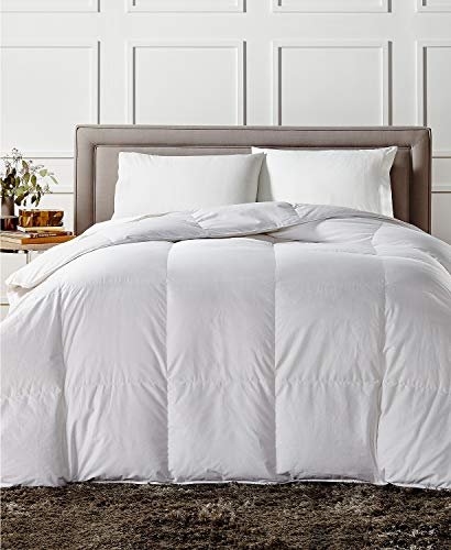- Charter Club European White Down Medium Weight Full Queen Comforter - Hypoallergenic, UltraClean