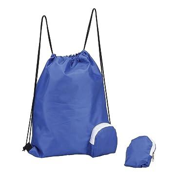 Amazon.com: Plegable Cordón Bolsa de gimnasio, senderismo ...