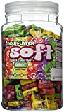 Now and Later Giant Soft Chewy Taffy Candy Assortment Tub (Pack of 120)