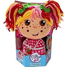 Flip Zee Girls Zana Very Berry Strawberry Sweet and Cuddly 2-in-1 Plush Doll