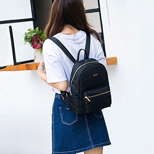 Femme Générique étudiant à à à Noir 30cm Noir Sac à à personnalité 14 de Dos Sac Sacs bandoulière Sac Mode Main Dos Sauvage Taille bandoulière 28 Sac Couleur xrr57tqw