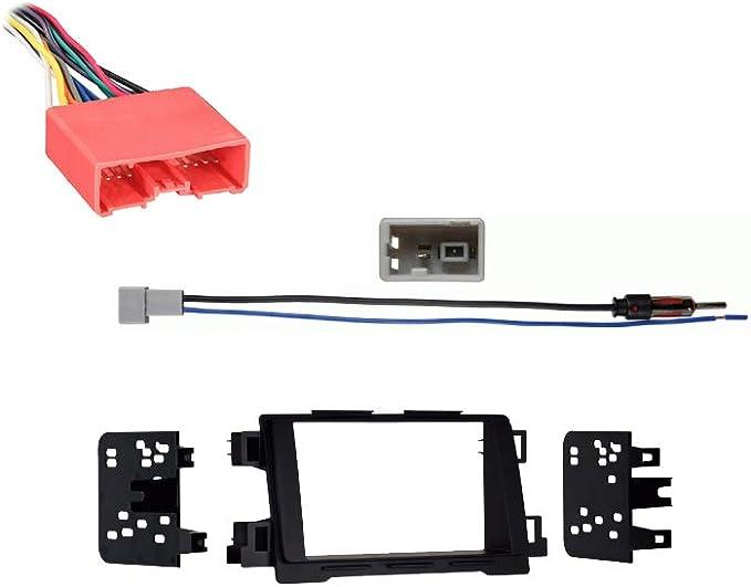 Compatible with Mazda Mazda6 2014 2015 Double DIN Aftermarket Stereo  Harness Radio Install Dash Kit: Car Electronics - Amazon.com | 2014 Mazda 6 Wiring Harness |  | Amazon.com