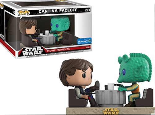Funko POP! Exclusive Star Wars: Movie Moments - Han Solo and Greedo Cantina Face-Off