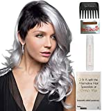 Bundle - 5 Items: Bennett Wig by Rene of Paris, Christy's Wigs Q & A Booklet, 2oz Travel Size Wig Shampoo, Wig Cap & Wide Tooth Comb - Color: ILLUMINA-R