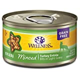 wellness minced cat food - Wellness Complete Health Natural Grain Free Wet Canned Cat Food, Minced Turkey Entrée, 3-Ounce Can (Pack of 24)