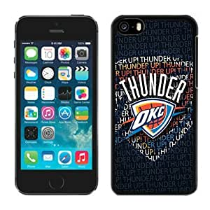 LJF phone case Cheap iphone 5/5s Case NBA Oklahoma City Thunder 1 Free Shipping